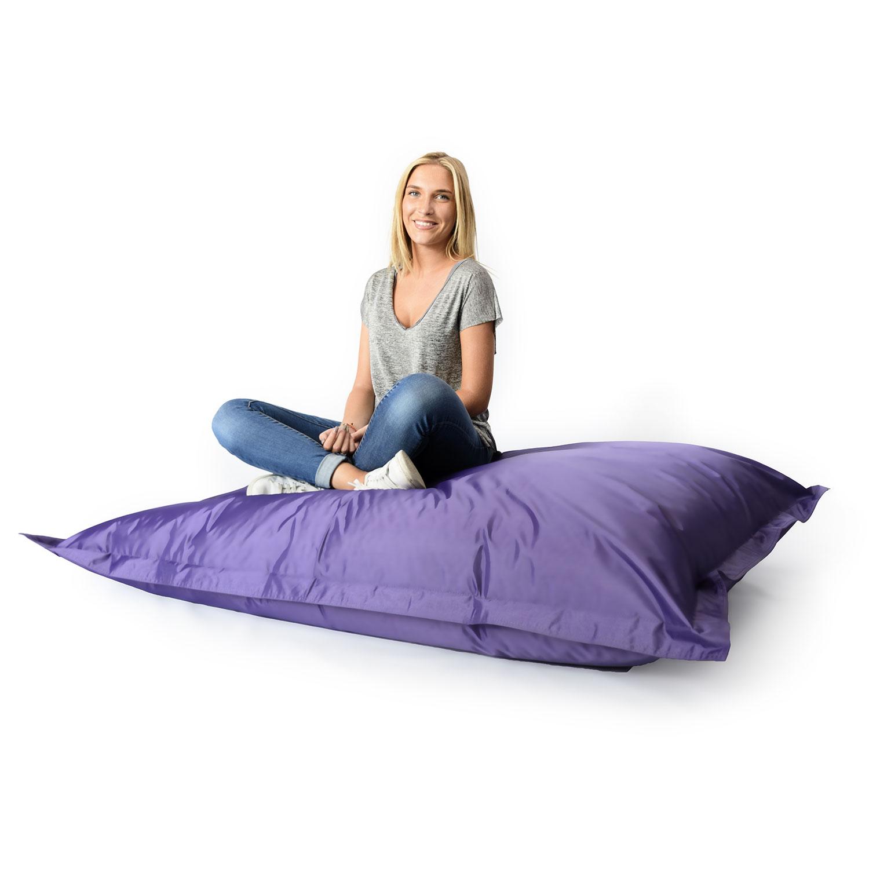 pouf g ant int rieur ext rieur violet 70. Black Bedroom Furniture Sets. Home Design Ideas