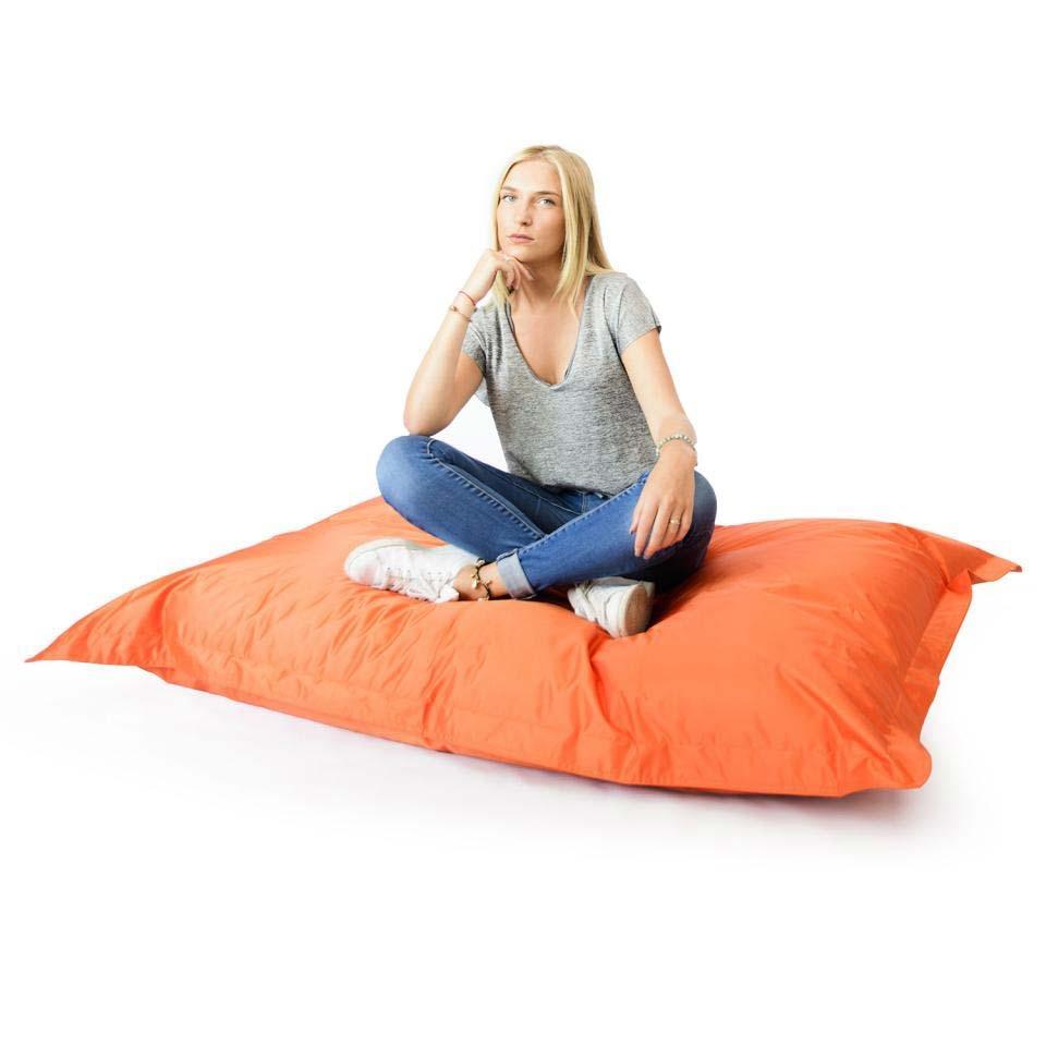 pouf g ant int rieur ext rieur bleu marine 70. Black Bedroom Furniture Sets. Home Design Ideas