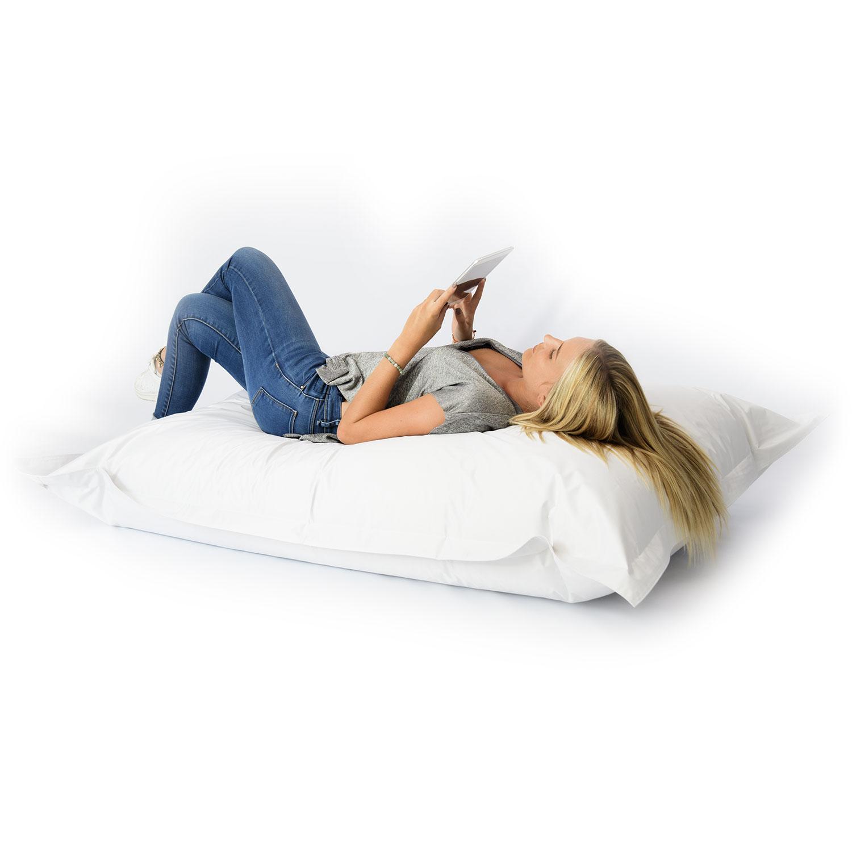 pouf g ant blanc int rieur et ext rieur prix direct fabricant. Black Bedroom Furniture Sets. Home Design Ideas