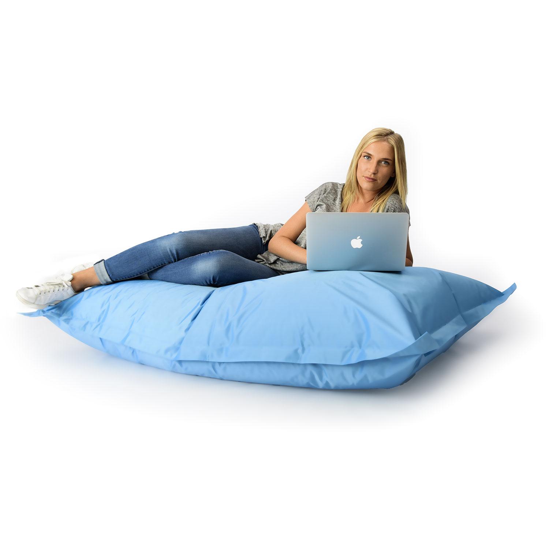 pouf g ant bleu ciel int rieur et ext rieur prix direct fabricant. Black Bedroom Furniture Sets. Home Design Ideas
