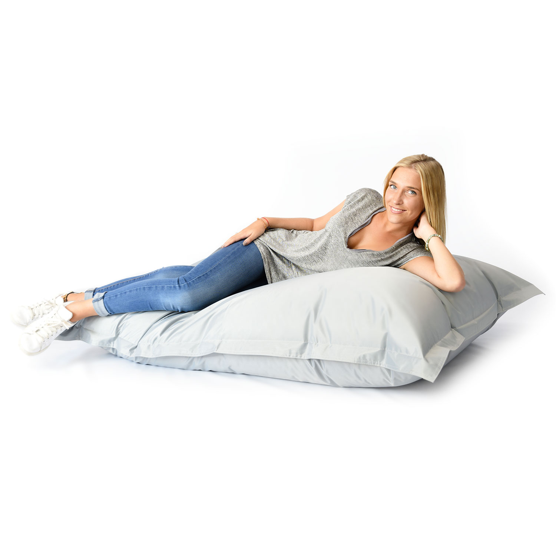 pouf g ant int rieur ext rieur gris 70. Black Bedroom Furniture Sets. Home Design Ideas