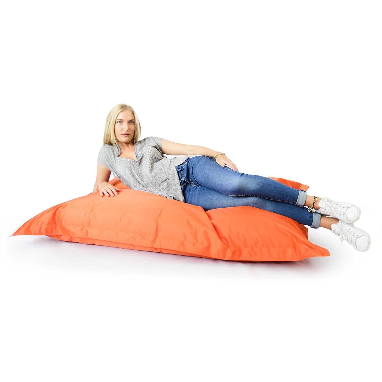 pouf g ant orange int rieur et ext rieur prix direct fabricant. Black Bedroom Furniture Sets. Home Design Ideas