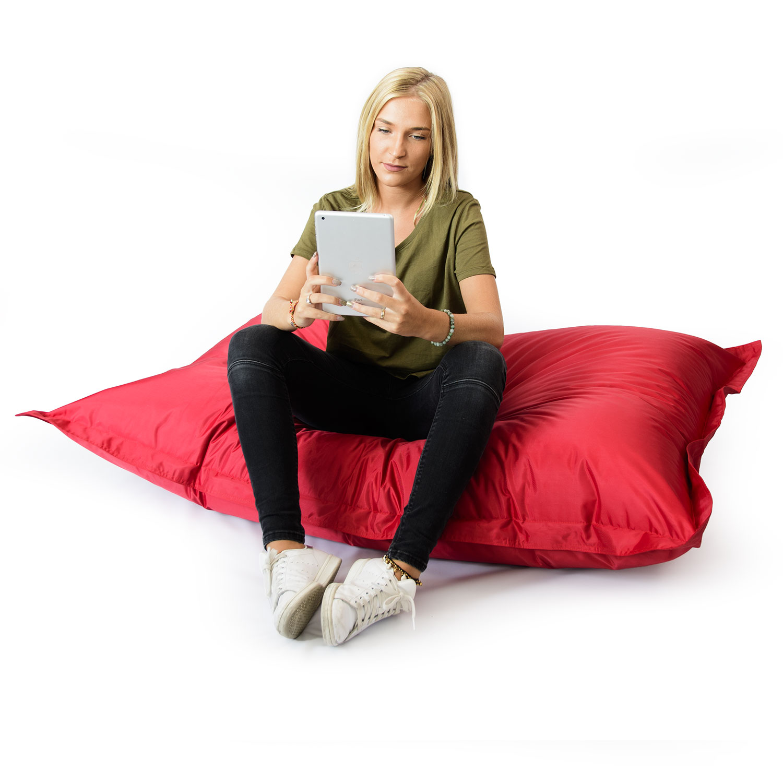 pouf g ant rouge int rieur et ext rieur prix direct fabricant. Black Bedroom Furniture Sets. Home Design Ideas